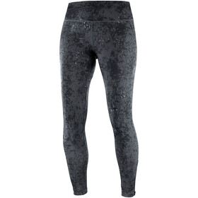 Salomon Agile Lange Leggings Dames, ebony